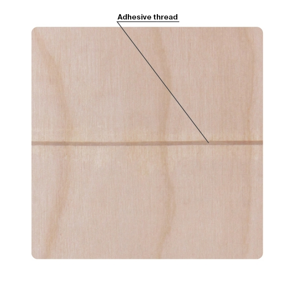 Breaking News SVEZA Interior and Exterior Plywood grades Defects Part 1 :Adhesive thread occurrence