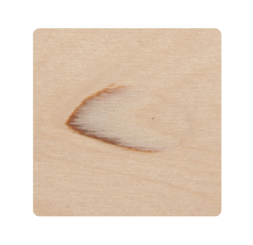SVEZA Interior and Exterior Plywood grades Defects Part 26: Pin knot Pockets (without bark inclusions)