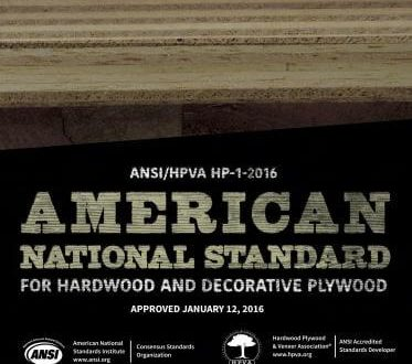 American National Standard for Hardwood and Decorative Plywood
